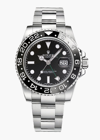 Rolex GMT Master II schwarze Lünette
